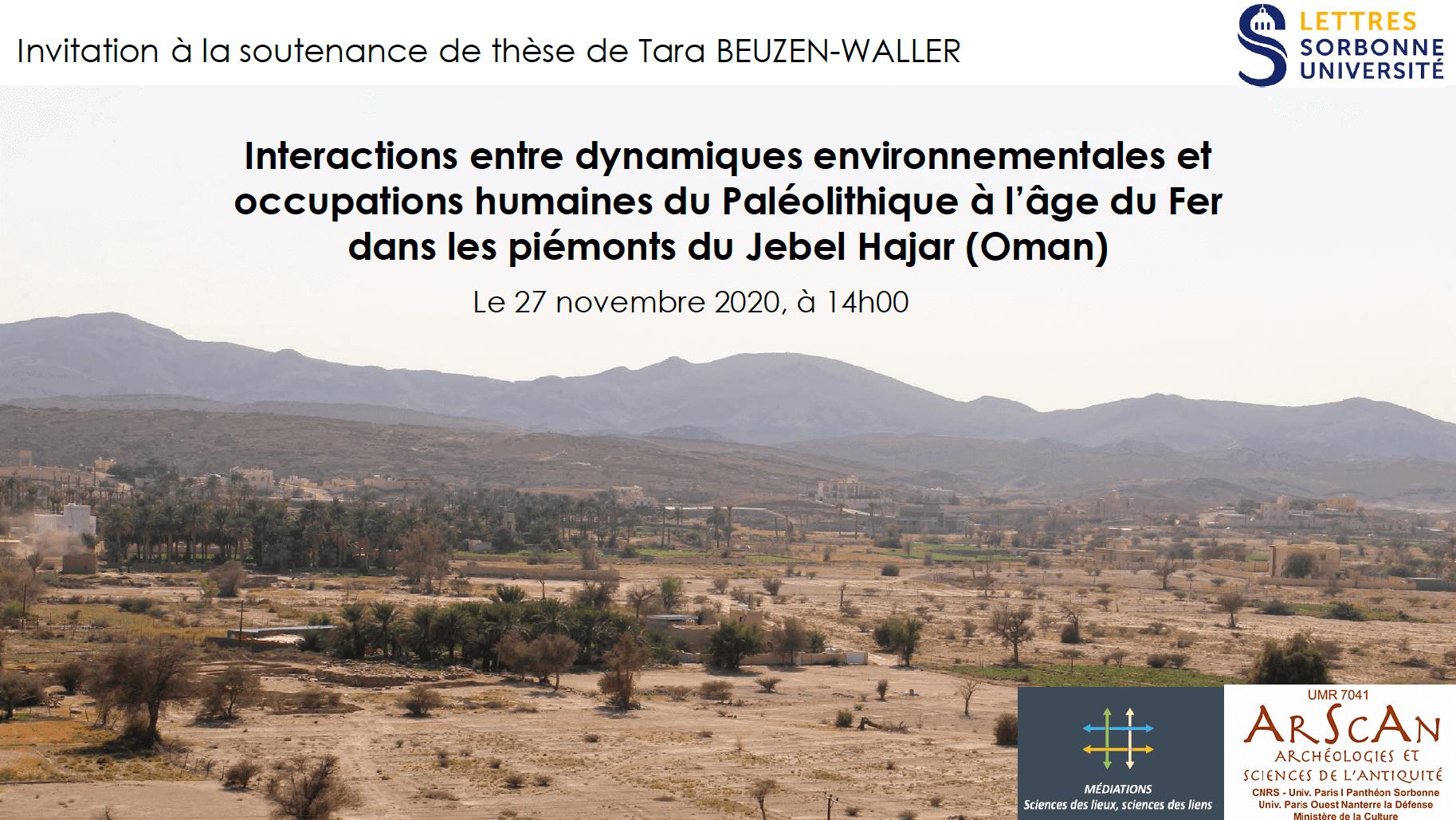 Read more about the article Soutenance de la thèse de Tara Beuzen