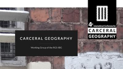 Read more about the article Olivier Milhaud au Colloque «Carceral Geography» / 4e conférence de géographie carcérale, Bruxelles, 14-15 décembre 2020