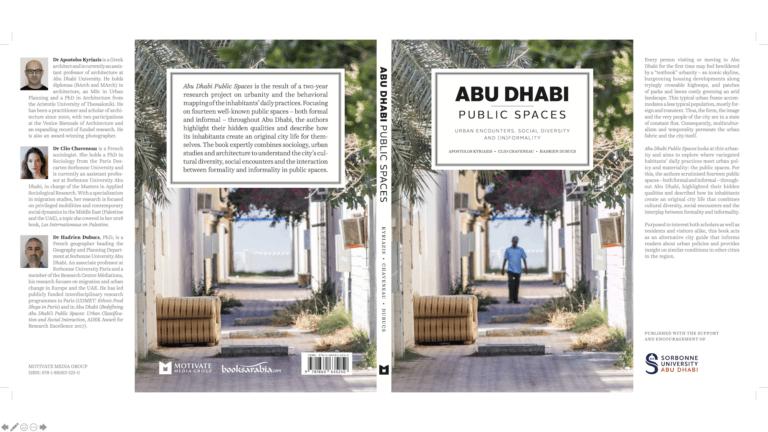 Hadrien Dubucs publie «Abu Dhabi public spaces»
