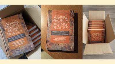 """F. Huguenin-Richard co-auteure d'un chapitre de l'ouvrage """"Aging People, Aging Places..."""""""