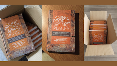 Florence Huguenin-Richard co-auteure d'un chapitre de l'ouvrage « Aging People, Aging Places: Experiences, Opportunities, and Challenges of Growing Older in Canada ».