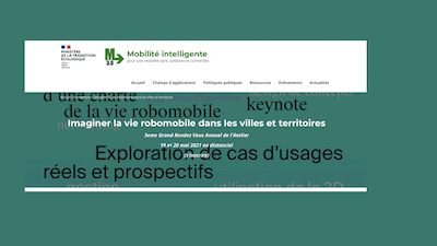 Read more about the article Florence Huguenin-Richard et Raphaël Mollet ont donné une conférence au Grand Rendez-vous annuel de l'Atelier prospectif de la Vie robomobile